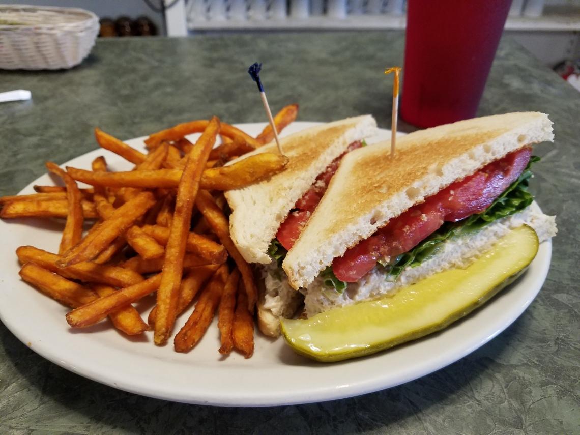 Mike's on Main - Tuna Salad Sandwich