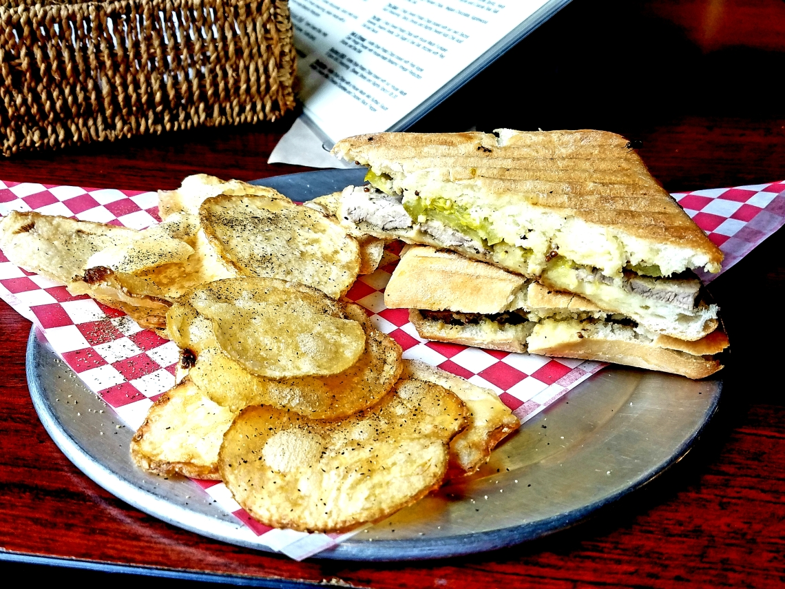The Gourmet Chip Company Cuban Sandwich